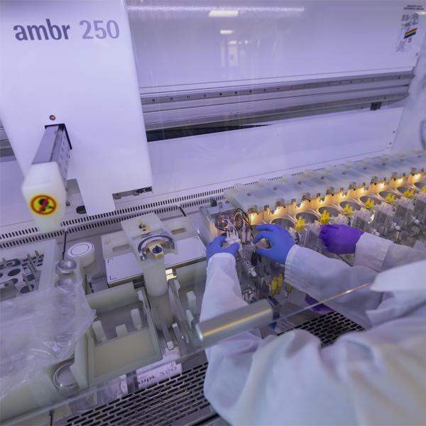 Upstream process development high throughput automation