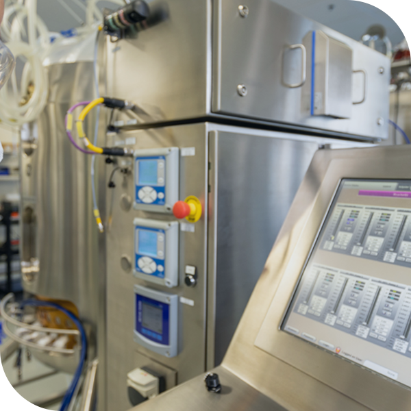 Bioreactor for pilot scale production